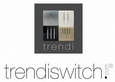 Trendi Artistic Modern Glossy Tactile 1 Gang 1 Way Dimmer switch Silver ART-DMSI
